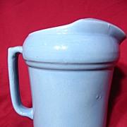 Medicine Hat Pottery Ice Lip Pitcher