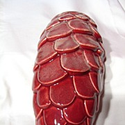 Vintage Beauce Large Pine Cone Wall Pocket ~ Model 338