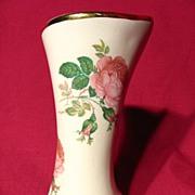 Vintage McMaster Pottery Scroll Vase