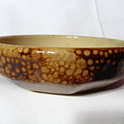 Medalta Art Deco Styled Low Bowl