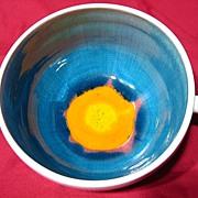 Retro Rabiusla Swiss Studio Pottery Bowl
