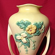Hull Wildflower W12 Handled Vase