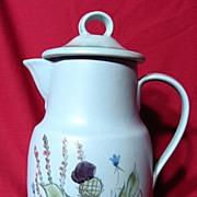Buchan Stoneware Scottish Thistle 6 Cup Coffee Pot