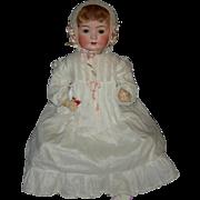 "LIFELIKE 22"" - HEUBACH KOPPELSDORF - Baby - Sleep Eyes & Pierced Nostrils - Original Body"