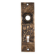 Playful Antique Aesthetic Movement Doorplates by Nashua Lock Co, c. 1880s