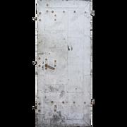 """Salvaged Antique 36"""" Industrial Fire Door"""