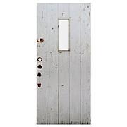 """Reclaimed Antique 36"""" Plank Door"""