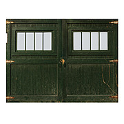 Substantial Pair of Antique Reclaimed Carriage Doors, Early 1900s