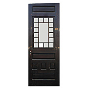 "Striking Antique Salvaged 30"" Door, Late 19th Century"