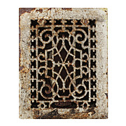 Elegant Antique Cast Iron Heat Register