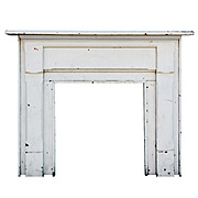 Understated Antique Fireplace Mantel, Early 1900s