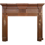Fantastic Antique Federal Fireplace Mantel