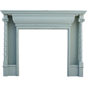 Charming Antique Fireplace Mantel, Early 1900's