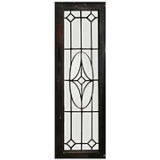 Gorgeous American Leaded and Beveled Glass Window