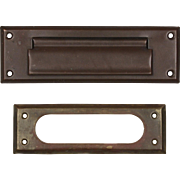 Understated Letter Slot Set, Early 1900s