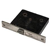 "Rare Antique Jack & Jill Bathroom Mortise Lock by Russwin, 2-1/2"" Backset"