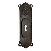 Gorgeous Antique Cast Iron Neoclassical Pocket Door Plates