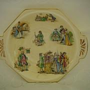 Vintage Royal Winton Grimwades Colonial Figure Dish