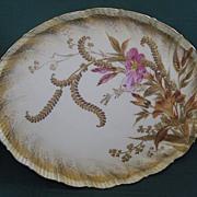 SALE 1800's Martial Redon Limoges Porcelain Dresser Tray