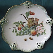 SALE Rosenthal Hand Painted Signed Porcelain Dish