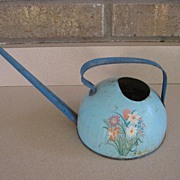 SALE Vintage Ohio Art Co, Child's Tin Watering Can