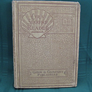 "SALE 1903 School Book ""The Children's Second Reader - Cyr's Readers"