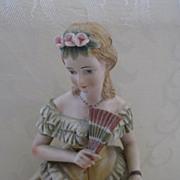 Lefton China Lady Figurine