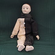 SALE Bisque Mime Doll