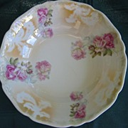 REDUCED Beautiful Porcelain China  Bowl Victorian Roses