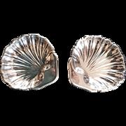 Vintage Sterling Silver Shell Servers/ Salt/ Nut Dishes