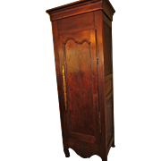 REDUCED French bonnetiere (cabinet one door) Louis XV Provincial from the Western France, circ