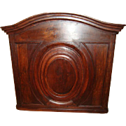 SALE French Louis XV front panel, walnut, circa 1840
