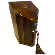 SALE Rare George III Sheraton period Spoon Box c.1780