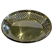 Smart Antique English Silver Plate Bread Basket by Atkin Brothers c.1875