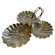Top Quality Silver Plated Shell Dish With Three Shell Feet by Elkington & Co. - 1909