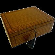 Magnificent & Elegant Sheraton Harewood Table Box c.1780
