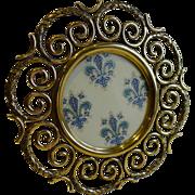 Stunning Antique English Brass Photograph Frame c.1880
