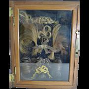 Unique English Georgian Family Hair Display Box c.1810