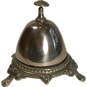 Antique English Beehive Brass or Counter Bell c.1890