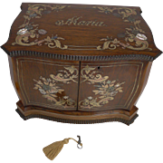 SALE Museum Quality French Inlaid Jewelry Cabinet c.1850 - Maria