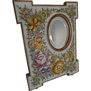 SALE Large Antique Venetian Micro-Mosaic Mirror c.1890