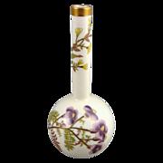 SALE Antique Royal Worcester Bud Vase c. 1884