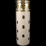 SALE Vintage Lenox American Belleek Vase, Arts and Crafts