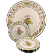 SALE Vintage Rosenthal Winifred Cake / Dessert Set - Selb Germany