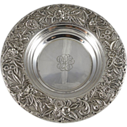 S. Kirk & Son Inc. Sterling Silver Repousse Wine Coaster