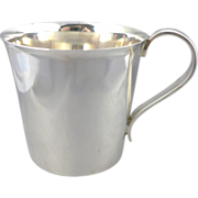 Heavy Sterling Silver Baby Cup - High Quality