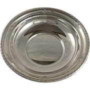 """Wallace Sterling Silver Vegetable Serving Bowl - 10"""" 4275-9"""