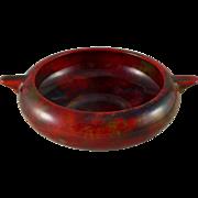 Royal Doulton Flambe Double Handled Bowl - Noke