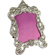 Small Ornate Gorham Sterling Silver Picture Frame #321