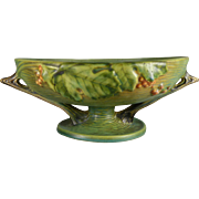 Roseville Bushberry Fruit Bowl in Green - 1 10 FB
